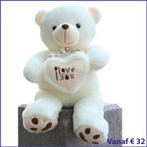 I Love You Knuffels met hart