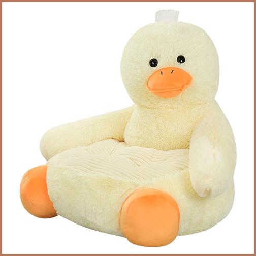 Eend sofa voor kleine kinderen. ZO leuk om op te zitten.